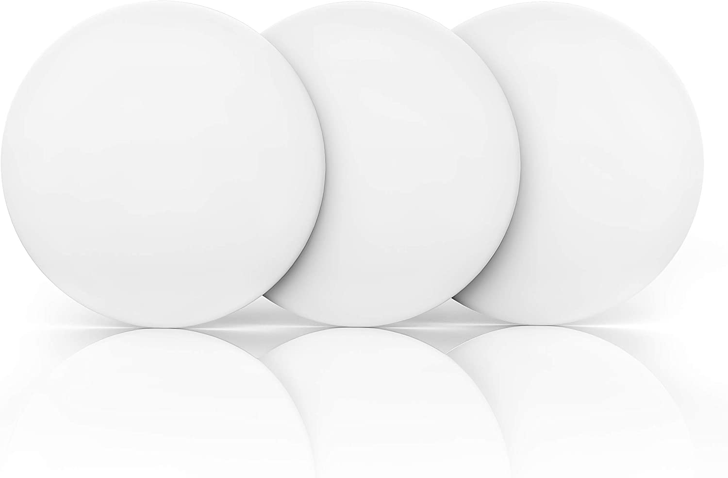 """Door Stopper Wall Protector Large 3.15"""" (3 PCS) with Strong 3M Adhesive - Quiet and Shock Absorbent Silicone Wall Protectors from Door Knobs - Discreet Door Bumper to Protect Every Wall Surface: Home Improvement"""