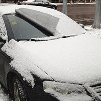 Winomo Auto Windschutzscheibe Abdeckung Auto Sonnenschutz Winterschutz Anti Frost Schneeschutz Eisschutz Auto
