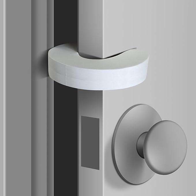 5 X Cartoon Door Stop Stopper Wedge Protection Finger Safety Baby Child Anti Lock Slamming Door Prevent Finger Pinch Injuries