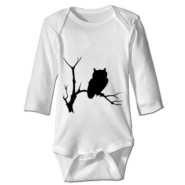 WilBstrn Baby Onesie Owl Owlet Bird Jumpsuit Soft Cotton Romper Comfy Creeper