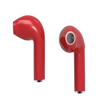 Hangang Auricular Bluetooth Auriculares Inalámbricos En Oreja Auricular Mini Auriculares Para Apple Iphone 7/7