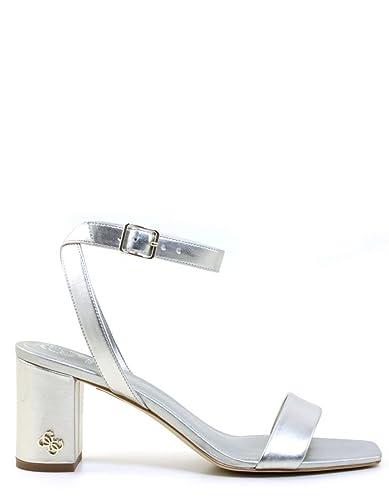 Guess Silver Heel Sandals by (36 - Silver) uGMNij6EIt