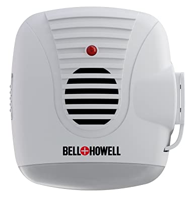 Bell + Howell Ultrasonic Pest Repeller with AC Outlet and Night Light (Pack of 4)