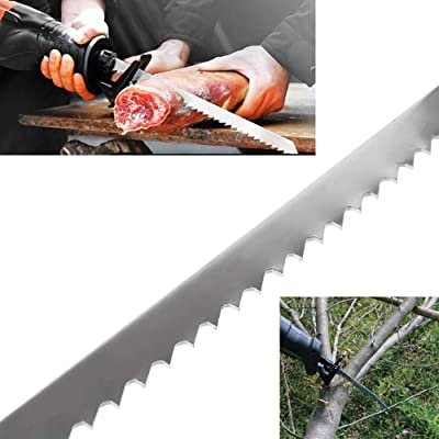 2pcs 9 Inch Stainless Steel Reciprocating Saw Blades For Bone Meat Wood Cutting