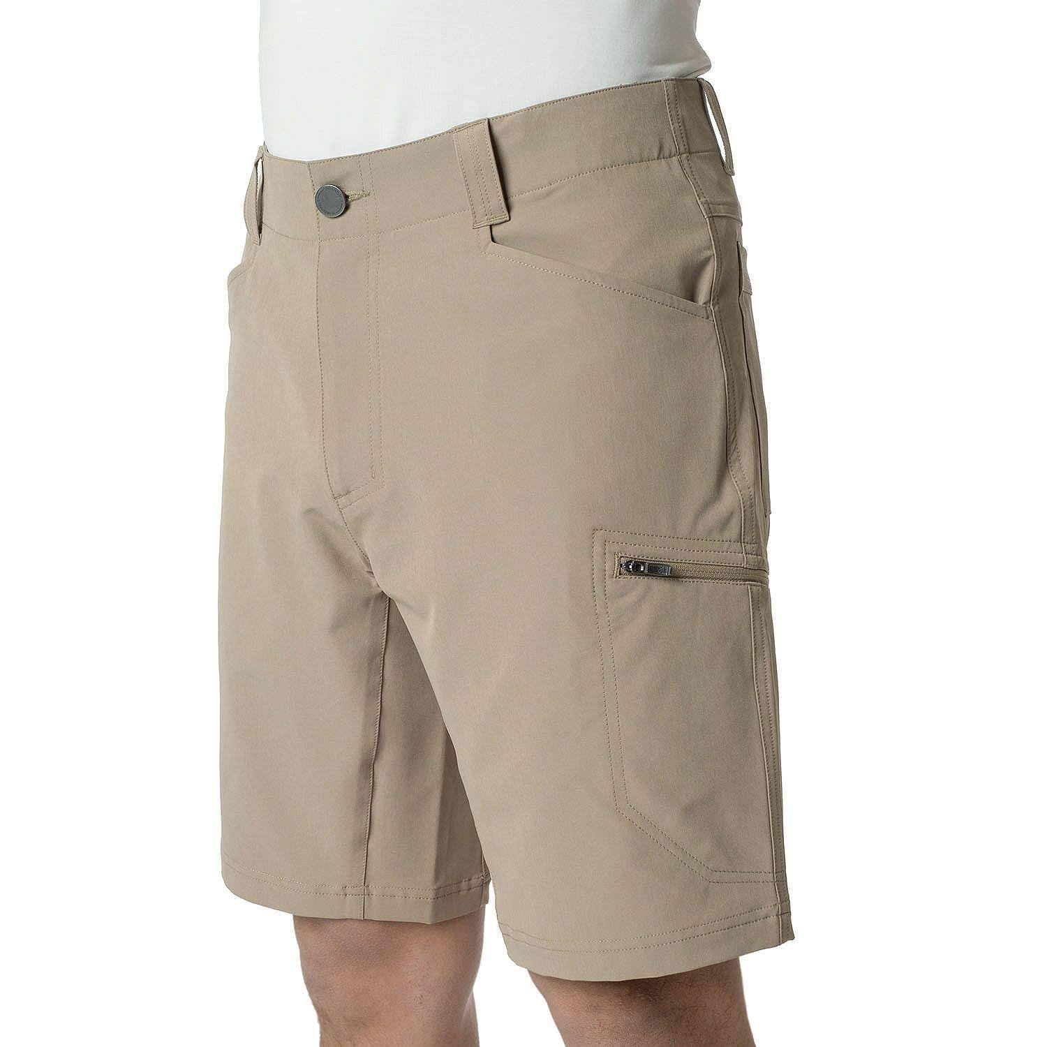 ZeroXposur Men's Lightweight Stretch Travel Shorts Color: Oak Size: (30)-(31)-(32)-(33)-(34)-(36)-(38)-(40) New Tags (40) by ZeroXposur (Image #2)