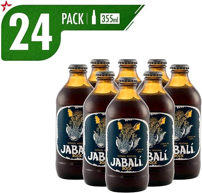 Cerveza Artesanal Jabalí Bock 24 Pack Botella 355 Ml