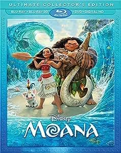 Moana 3D [3D Blu-ray / Blu-ray / DVD / Digital HD]