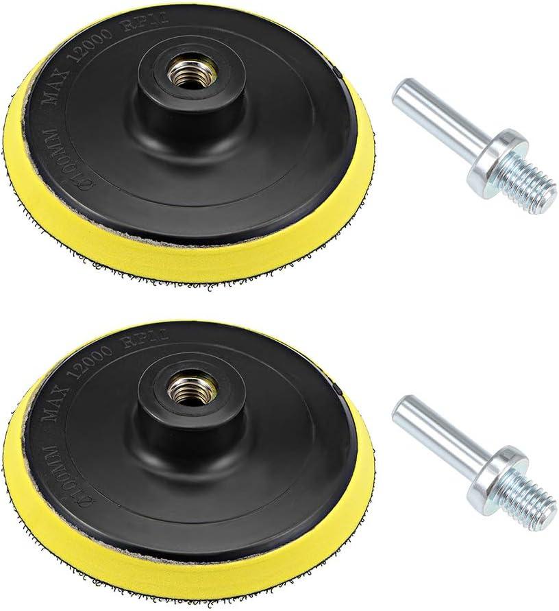 Backing Pad Cap with Velcro for Drill Angle Grinder Random Orbital Sander