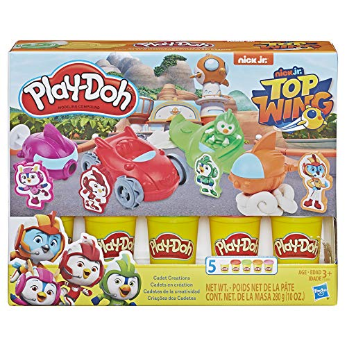 (Play-Doh Top Wing Cadet Creations Toolset with 5 Non-Toxic Colors)