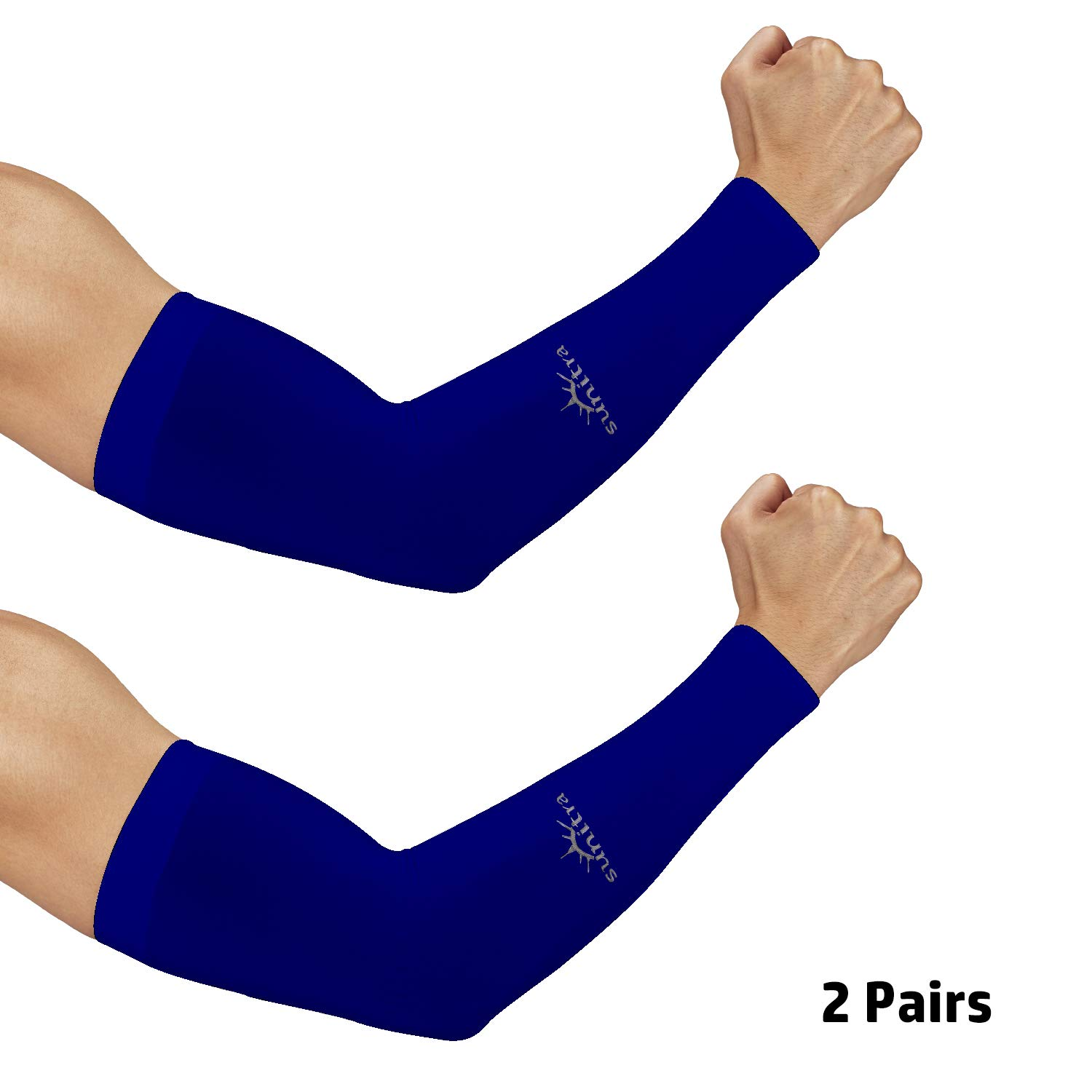 Cycling Sleeves for Bikers Sports. SUNITRA Arm Sleeve with UV Protection Cooling in Summer Arm Warmers in Winter Arm Sleeves for Men Women /& Youth All Ages Arm Bike Under The Sun