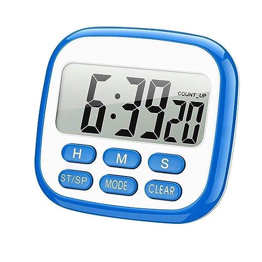 Temporizador de cocina magnético digital con pantalla LCD de ...