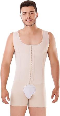 Fajas Colombianas para Hombres Mens Girdle High Compression Garmen Shapewear Bodysuit Shaper for Men