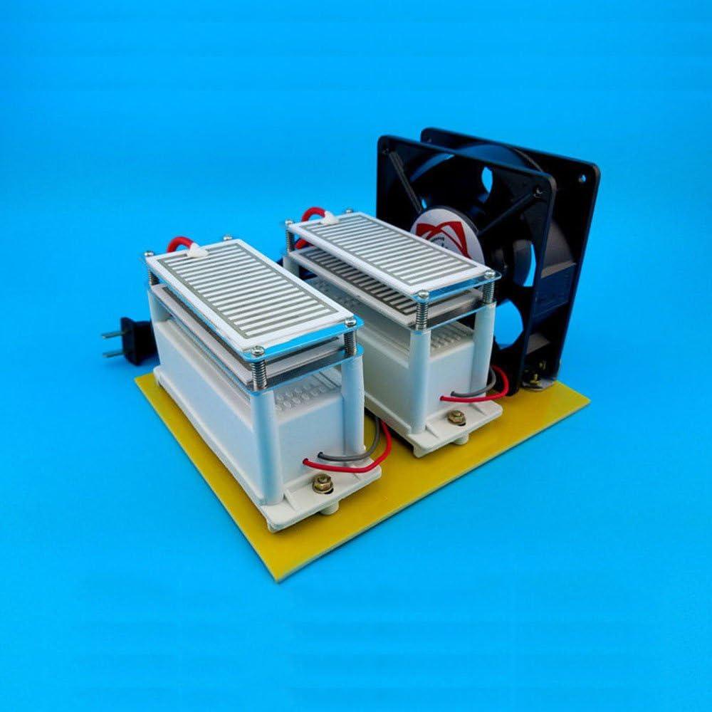 20 g 20000 mg/h Generador de Ozono Ceramic purificador de aire ozono Desinfectante eléctrica dispositivo de Ozono Ozono isator para las bacterias moho formaldehído ...