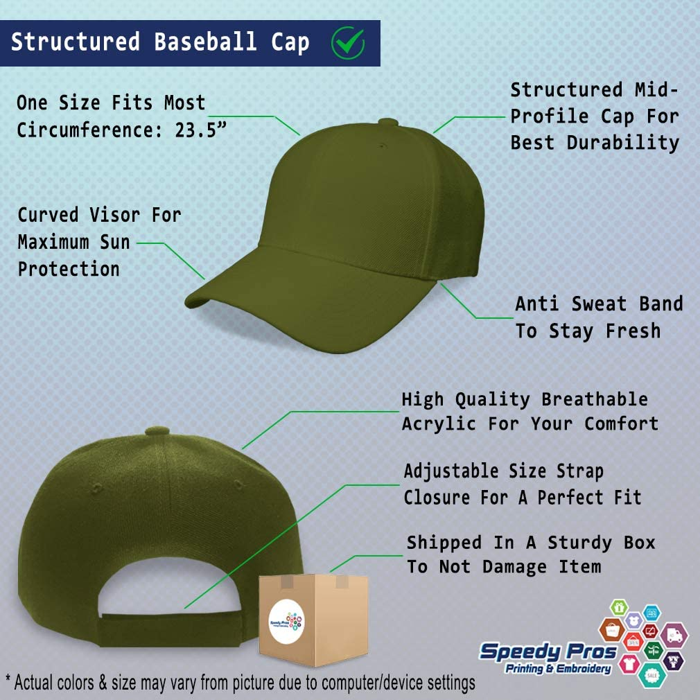 Custom Baseball Cap Gooooal Soccer Ball and Net Embroidery Acrylic Strap Closure