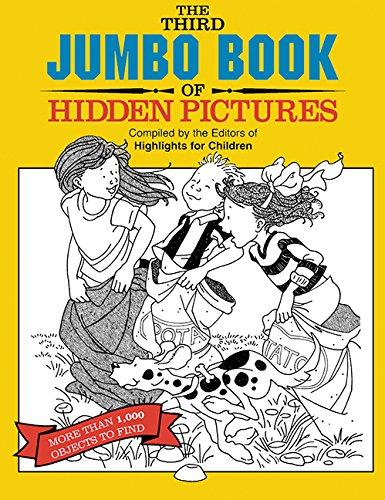 The Third Jumbo Book of Hidden Pictures