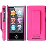 Apple iPod nano 7 ケース クリップ ハード カバー MY WAY? 7th PC Clip Case + 保護 フィルム Pink ピンク