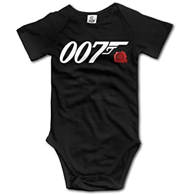 3310ab157 Amazon.com  James Bond 007 Spectre Baby Boys Girls Onesies  Clothing