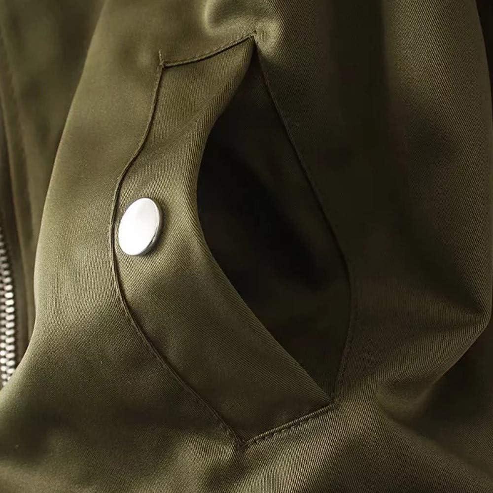 Women Winter Zipper Jacket Coat Warm Retro Cardigan