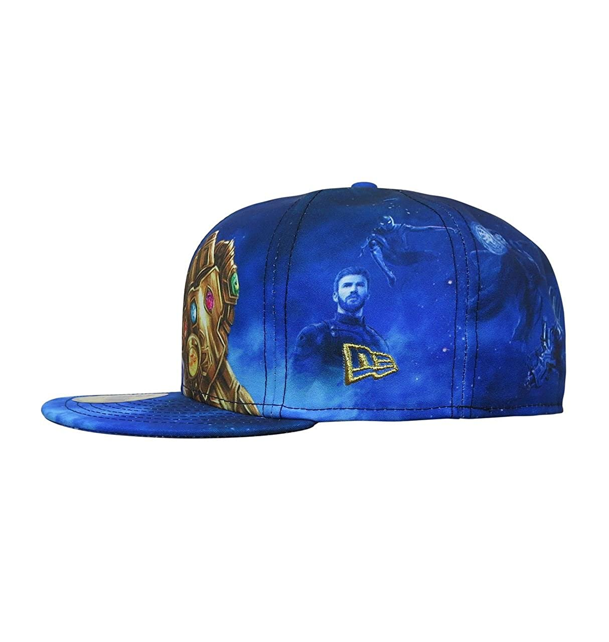 New Era Avengers Infinity War Thanos 59Fifty Fitted Hat- 8 at Amazon ... 7440d93263e