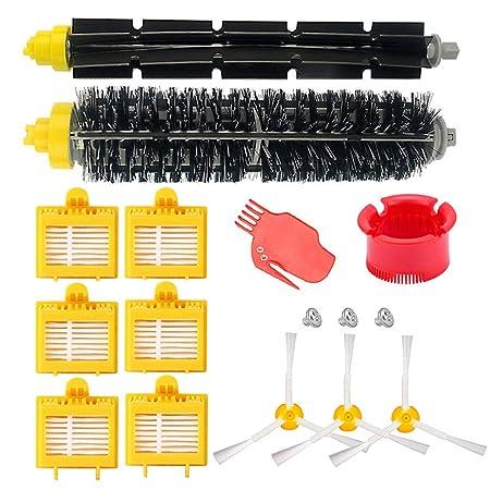 HoHome Kit Cepillos Repuestos para iRobot Roomba Serie 700, Accesorios para Roomba 700 720 750 760 770 772 772e 774 775 776 776p 780 782 782e 785 786 ...