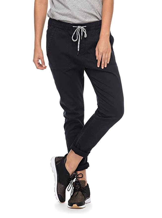 Roxy - Pantalón De Chandal - Mujer - L - Negro  Amazon.es  Ropa y accesorios b9969787035