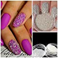 QIMYAR Nail Art Micro Rhinestone AB Crystal Glass Mini Beads Gardient Dazzling Caviar Beads 3D Nail Decoration 0.6mm