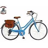 Via Veneto By Canellini Bicicleta Bici Citybike CTB Mujer Vintage Retro Via Veneto Acero