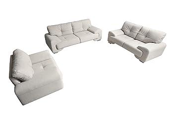 Mb Moebel Polstergarnitur Sofa Set 3er 2er Sessel 3 2 1