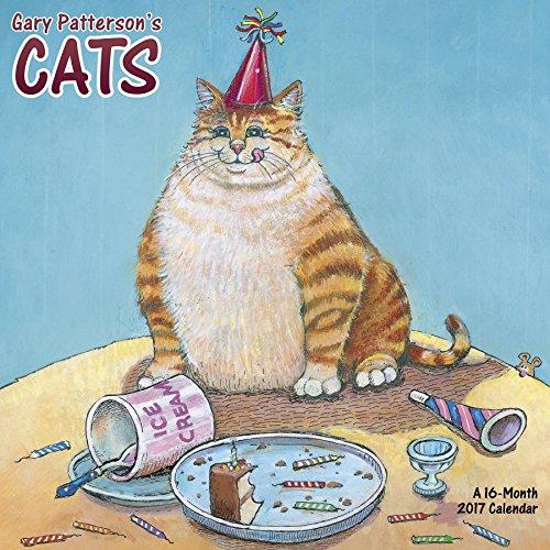Gary Patterson's Cats Wall Calendar