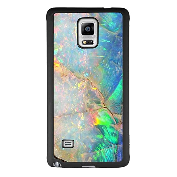 newest e948a 11a6d Amazon.com: Case for Samsung Galaxy Note 4 Colorful Opal Marble Case ...