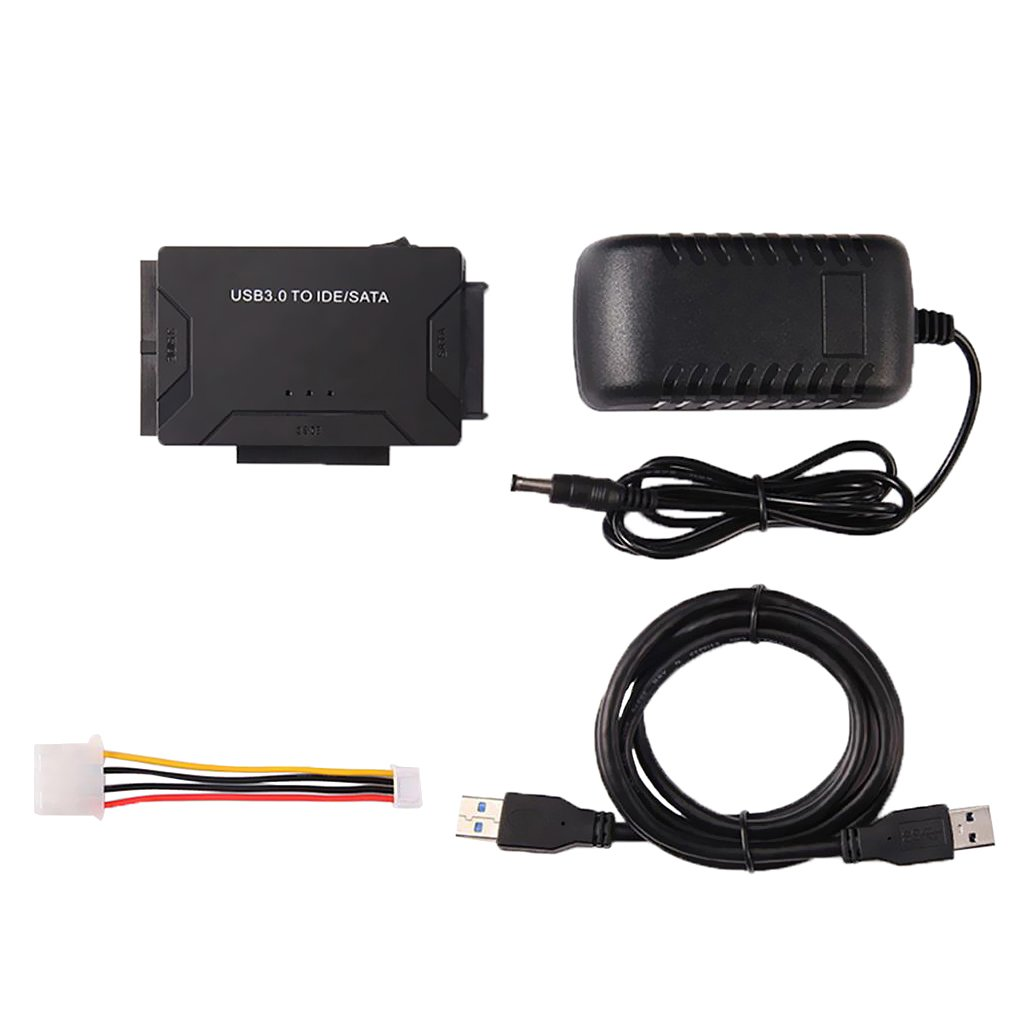 Flameer USB 3.0 to IDE SATA S-ATA/2.5''/3.5'' Cable HD HDD Hard Drive Adapter Fits US Power