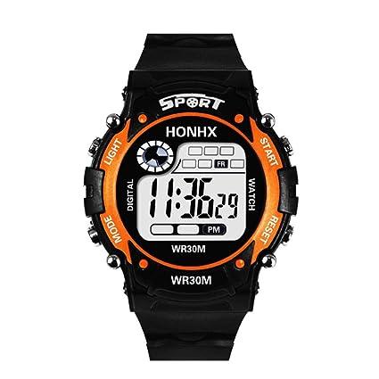 Y56 Fashion Sport LED Resistente al Agua Digital Watch Reloj de Pulsera, Mode Outdoor Cuarzo