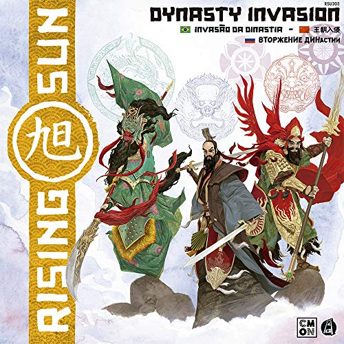 Rising Sun. Dynasty Invasion Galápagos Jogos, Multicor