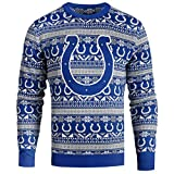 INDIANAPOLIS COLTS 2016 AZTEC PRINT UGLY CREW NECK SWEATER