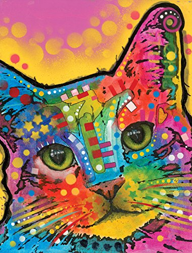 (Dean Russo Tilted Head Cat Journal: Lined Journal (Quiet Fox Designs) 144 High-Quality, Acid-Free Pages for a Dream Diary or Journaling, with Vibrant Cover Art from Brooklyn Pop Artist Dean Russo)