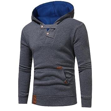Manadlian_Sudadera con capucha hombres Sudaderas Hombres, Manga Larga Camuflaje Abrigo Chaqueta Suéter Outwear: Amazon.es: Deportes y aire libre