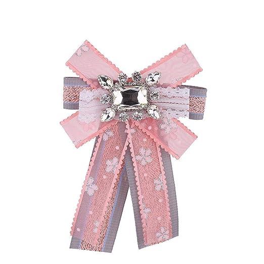 YAOSHI-Bow tie/tie Corbatas y Pajaritas para Corbata de Mujer ...