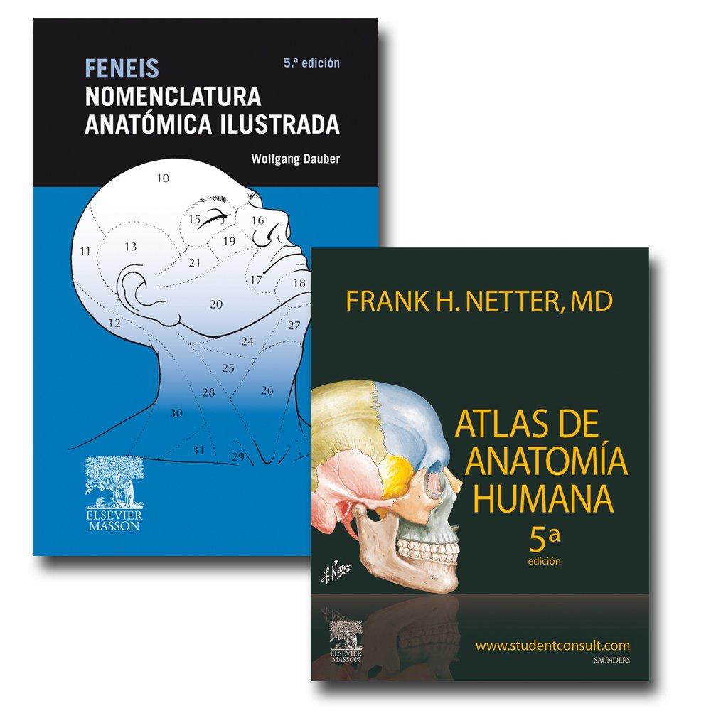 Pack anatomía: Netter + Feneis: Amazon.es: F.H. Netter + H. Feneis: Libros