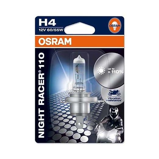 4 opinioni per Osram 64193NR1-01B Night Racer 110 Lampada Auto, Alogena