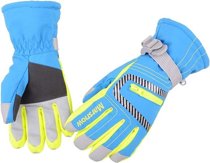 Kids Children Winter Gloves Waterproof Thermal Wind Ski Warm Snow Thermal 3-15