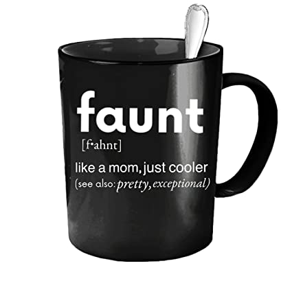 f4dbc15d Image Unavailable. Image not available for. Color: Faunt Mug Funny Aunt  Definition ...