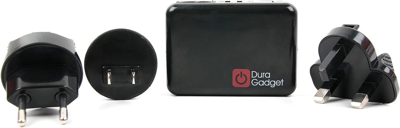 DURAGADGET Chargeurs Allume-Cigare de Voiture pour GPS Wikango XL First et Premium Inforad Ci et Smart Mini USB