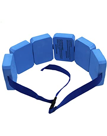 UniqStore Cinturón de flotación, Azul Nadar cinturón Placa de flotabilidad Masculina y Femenina para la