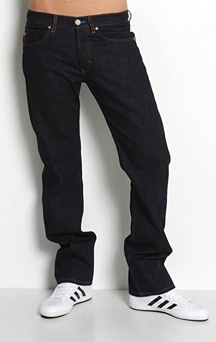 adidas Blue Conductor Regular Fit Jeans, Hombre, Rinse Denim ...