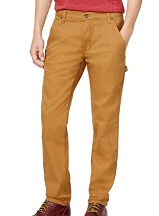 8cb6bd8dc5e Amazon.com  Dickies Mens Flex Duck Casual Carpenter Pants brown ...