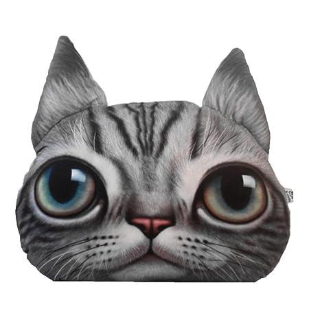 Amazon.com: Almohada para el cuello del coche con tres ojos ...