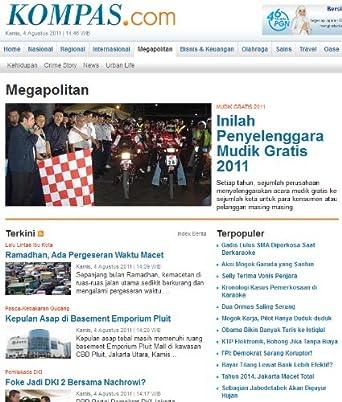 Kompas.com Megapolitan Section