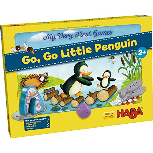 HABA My Very First Games - Go Go Little Penguin! - A First Competitive Game for Ages 2+ (Made in Germany) by HABA