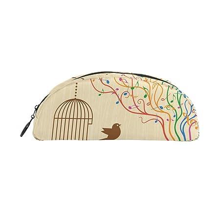 TIZORAX - Estuche para bolígrafos de papelería, diseño de jaula de ...
