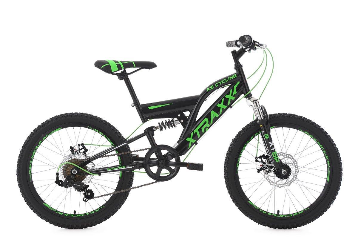KS Cycling Kinder Mountainbike Fully Xtraxx RH 30 cm Fahrrad ...